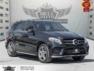 Used 2017 Mercedes-Benz GLE GLE 400, AMG, AWD, NAVI, 360CAM, B.SPOT, PANO, NO ACCIDENT for sale in Toronto, ON