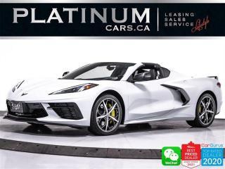 Used 2020 Chevrolet Corvette STINGRAY Z51,3LT, 495HP,TRANSPERANT ROOF,NAV,CAM for sale in Toronto, ON