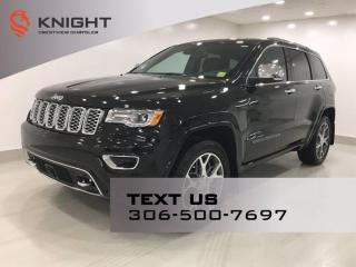 New 2021 Jeep Grand Cherokee Overland   Leather   ProTech Group   Sunroof   Navigation   for sale in Regina, SK