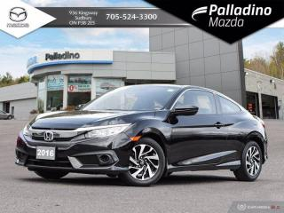 Used 2016 Honda Civic COUPE LX - NO ACCIDENTS - LANE DEPARTURE - ADAPTIVE CRUISE for sale in Sudbury, ON
