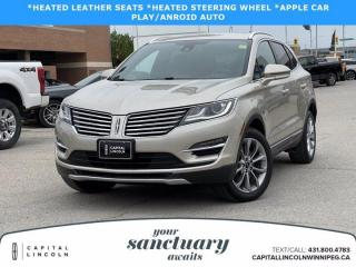 Used 2017 Lincoln MKC SELECT AWD for sale in Winnipeg, MB