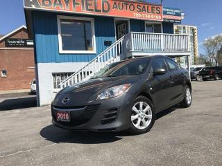 Used 2010 Mazda MAZDA3 GS Sedan **Auto/Sunroof/Bluetooth** for sale in Barrie, ON