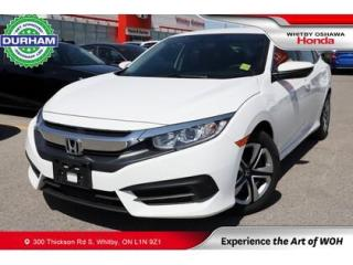 Used 2017 Honda Civic LX | CVT | Android Auto/Apple CarPlay for sale in Whitby, ON
