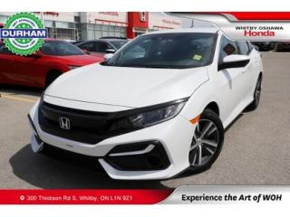 Used 2020 Honda Civic LX | CVT | Android Auto/Apple CarPlay for sale in Whitby, ON