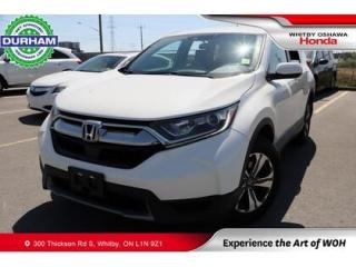 Used 2018 Honda CR-V LX   CVT   Android Auto/Apple CarPlay for sale in Whitby, ON