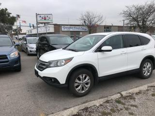 Used 2012 Honda CR-V EX,AWD,ROOF,REAR CAM,BLUE TOOTH,HEATED SEATS for sale in Toronto, ON