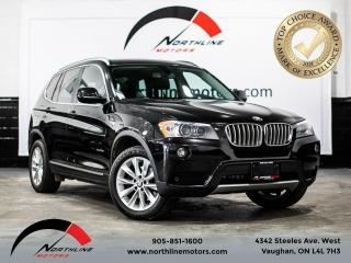 Used 2013 BMW X3 35i/Navigation/360 Camera/Pano Roof/Heated Leather for sale in Vaughan, ON