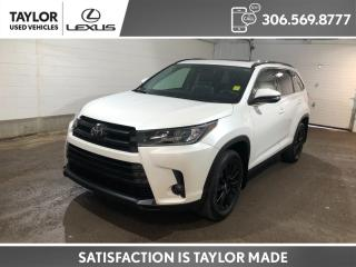 Used 2019 Toyota Highlander XLE SE PACKAGE - 2ND ROW CAPTAIN SEATS for sale in Regina, SK