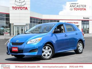 Used 2009 Toyota Matrix BASE for sale in Ancaster, ON