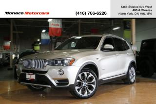 Used 2015 BMW X3 35i xDrive - LEATHER|PANO|NAVI|BACKUP|FCW|BSA|LKA for sale in North York, ON