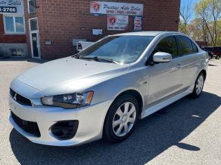 Used 2017 Mitsubishi Lancer 2L/ONE OWNER/NO ACCIDENTS/SAFETY INCLUDED for sale in Cambridge, ON
