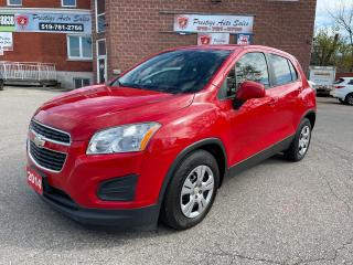 Used 2014 Chevrolet Trax LS/1.4L/NO ACCIDENTS/SAFETY INCLUDED for sale in Cambridge, ON