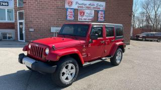 Used 2012 Jeep Wrangler Sahara Unlimited/4X4/3.6L/ONE OWNER/NO ACCIDENTS for sale in Cambridge, ON