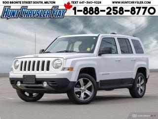 Used 2016 Jeep Patriot HIGH ALTITUDE | 4X4 | LEATHER | RMT STRT | NAV & M for sale in Milton, ON