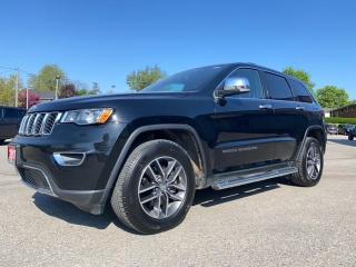 Used 2017 Jeep Grand Cherokee Limited   Leather   Sunroof   8.4