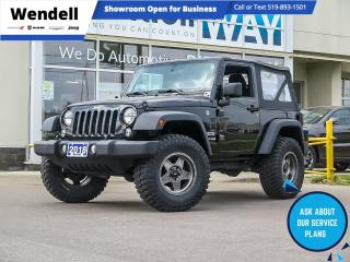 Used 2018 Jeep Wrangler SPORT for sale in Kitchener, ON