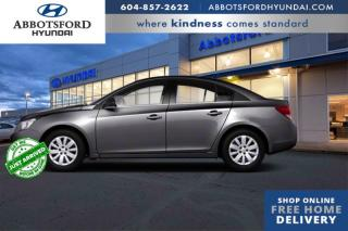 Used 2011 Chevrolet Cruze LS  - SiriusXM -  OnStar - $83 B/W for sale in Abbotsford, BC