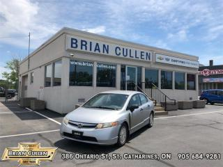 Used 2008 Honda Civic Sedan DX-G  AS-TRADED, AS-IS! YOU CERTIFY YOU SAVE! FINANCING NOT AVAILABLE ON AS-IS, AS-TRADED VEHICLES! for sale in St Catharines, ON