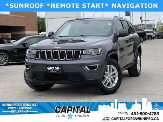 Used 2017 Jeep Grand Cherokee Laredo for sale in Winnipeg, MB