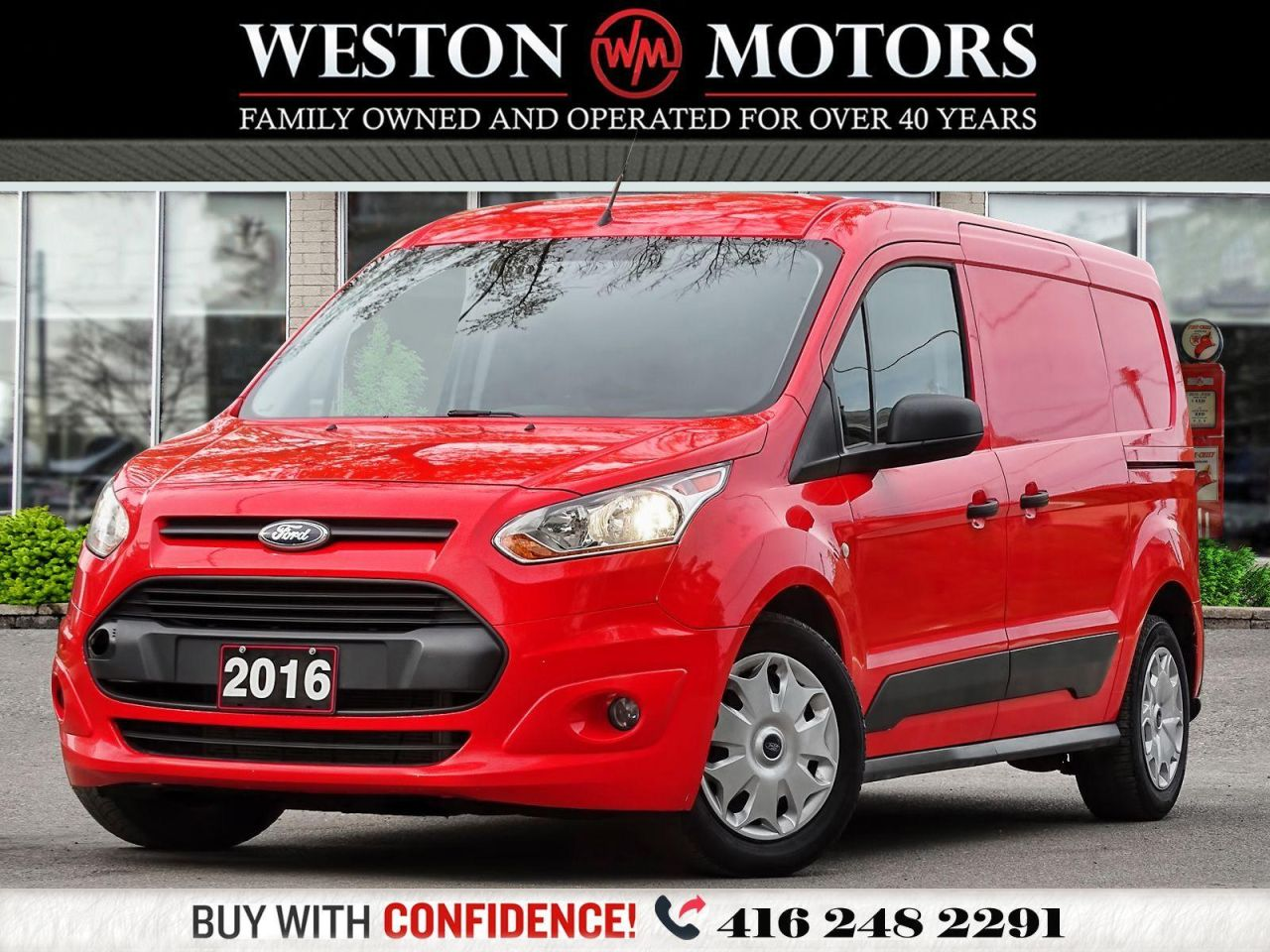 2016 Ford Transit Connect XLT*SHELVING*DUAL DOORS!!*