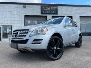 Used 2011 Mercedes-Benz M-Class ML 350 BlueTEC /DIESEL for sale in Guelph, ON