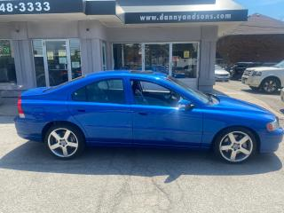 Used 2007 Volvo S60 R TYPE AS-IS 6SPEED for sale in Mississauga, ON