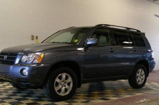 Used 2001 Toyota Highlander LIMITED  for sale in North Battleford, SK