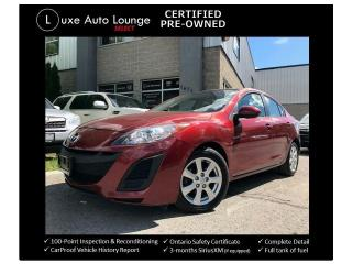 Used 2011 Mazda MAZDA3 GS - AUTO, SUNROOF, POWER GROUP, ONE OWNER! for sale in Orleans, ON