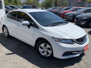 Used 2015 Honda Civic LX/AUTO/LOADED/CAMERA/BLUE TOOTH++ for sale in Scarborough, ON