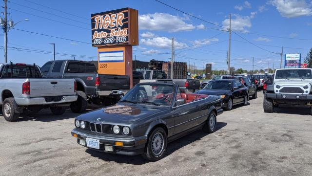 1987 BMW 3 Series 325iC**MANUAL*ONLY 144KMS*RED LEATHER*NEW TOP*CERT