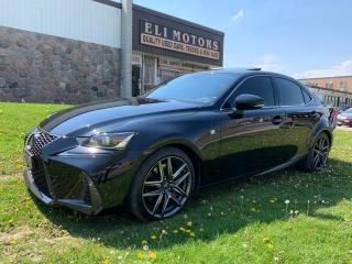 Used 2017 Lexus IS 300 F-SPORT 2 NAVIGATION REAR VIEW CAM BSM for sale in North York, ON