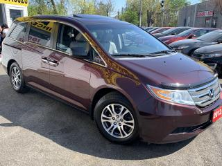 Used 2012 Honda Odyssey EX-L/CAMERA/8PASS/DVD/ROOF/LOADED/ALLOYS for sale in Scarborough, ON