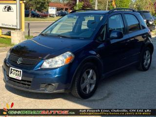 Used 2011 Suzuki SX4 JX LOW KM NO ACCIDENT CRUISE WARRANTY CERTIFIED for sale in Oakville, ON