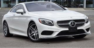 Used 2017 Mercedes-Benz S 550 COUPE, 4MATIC, 360°CAMERA, PANROOF, LANE DEPARTURE for sale in Toronto, ON