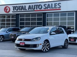 Used 2012 Volkswagen Golf GTI | SPORT SEATS | SUNROOF | for sale in North York, ON