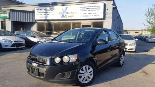 Used 2016 Chevrolet Sonic LT Backup Cam/Heated seats/Remote start for sale in Etobicoke, ON
