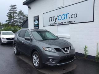 Used 2016 Nissan Rogue SV NAV, PANOROOF, HEATED SEATS, ALLOYS, BACKUP CAM!! for sale in Richmond, ON