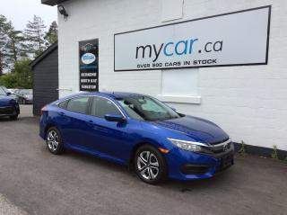 Used 2017 Honda Civic LX HEATED SEATS, BLUETOOTH, BACKUP CAM, LOW MILEAGE!! for sale in Richmond, ON