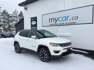 Used 2020 Jeep Compass Limited LEATHER, NAV, PANOROOF, UNREAL DEAL!! for sale in Kingston, ON