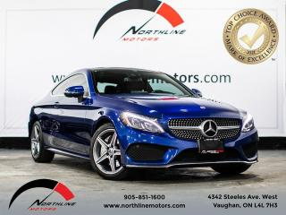 Used 2018 Mercedes-Benz C-Class C300 4MATIC Coupe/AMG Sport/Navigation/Camera for sale in Vaughan, ON