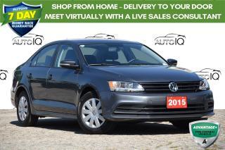 Used 2015 Volkswagen Jetta 2.0L Trendline+ BLUETOOTH | HEATED SEATS | for sale in Kitchener, ON