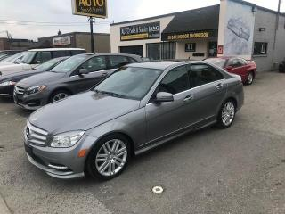Used 2011 Mercedes-Benz C-Class CARFAX VERIFIED NO ACCIDENTS for sale in Etobicoke, ON