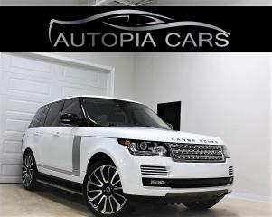 Used 2013 Land Rover Range Rover 4WD SC REAR DVD NAVIGATION REAR VIEW CAMERA for sale in North York, ON