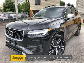 Used 2018 Volvo XC90 T6 R-Design 22 WHEELS  DRIVER'S ASSIST  LEATHER  P for sale in Ottawa, ON