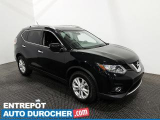 Used 2016 Nissan Rogue SV - AWD - Bluetooth - Climatiseur - Toit ouvrant for sale in Laval, QC