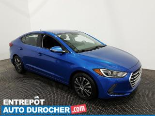 Used 2018 Hyundai Elantra GL - Apple/Android - Bluetooth - Climatiseur for sale in Laval, QC