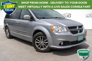 Used 2015 Dodge Grand Caravan SE/SXT TOWING PACKAGE!!! BLUETOOTH AUDIO!! LEATHER SEATS!!!! for sale in Barrie, ON