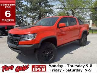 Used 2019 Chevrolet Colorado ZR2   Leather   Crew V6 4x4   Nav   Tow   for sale in St Catharines, ON