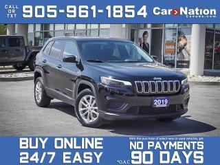 Used 2019 Jeep Cherokee Sport  LOCAL TRADE  HEATED SEATS & STEERING WHEEL  for sale in Burlington, ON