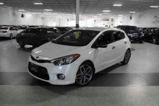 Used 2016 Kia Forte5 HB SX T-GDI I LEATHER I REAR CAM I PUSH START I CRUISE I BT for sale in Mississauga, ON